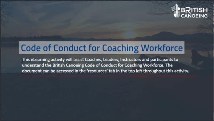 Knowledge Bytes- Code of Conduct for Coaching Workforce